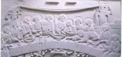 cina_cea_de_taina_casa_particulara_constanta_tablou_sculptura_piatra_stone_story