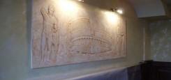 colosseum_restaurant_scapino_constanta_B_tablou_sculptura_piatra_stone_story