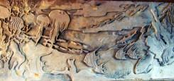 recif_cu_pesti_exotici_receptie_hotel_apolodor_tablou_sculptura_piatra_stone_story